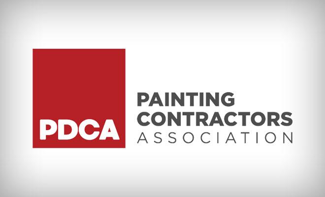 Logotipo de PDCA sobre un fondo blanco