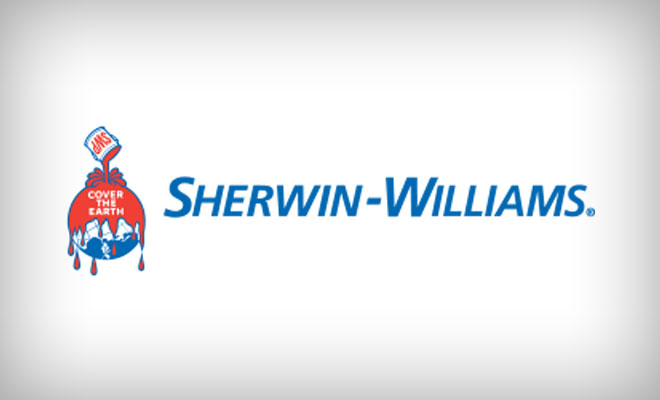 Sherwin-Williams logo on a white background