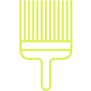 Icon: paint brush